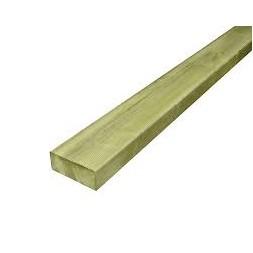 Madrier pin traité classe 4  46mm x 145mm  L 4m20