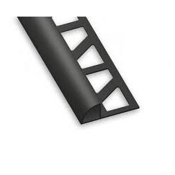 1/4 rond pvc noir 10mm x 2m50