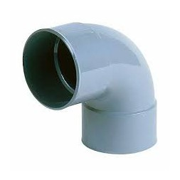 Coude PVC 87°  80mm F - F