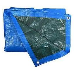 Bâche tarpaulin bleu