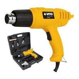 Décapeur thermique VITO 2000W Pistolet thermique mallette 5 accessoires - 2 températures