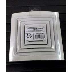 Grille ventilation ABS mixte 125mm