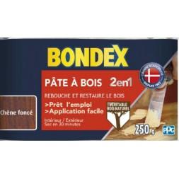 Pâte à bois 2 en 1 chêne foncé aspect mat - BONDEX