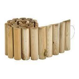 Bordure en bois pin traité