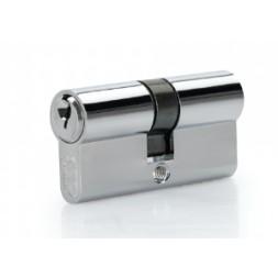 Cylindre de serrure argent 30/30mm