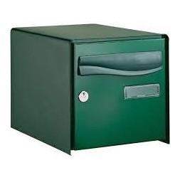 Boîte aux lettres simple face verte - DECAYEUX