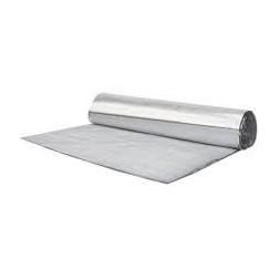 Ecran sous toiture aluminium double 6mm 1.20x12.50m 15m²