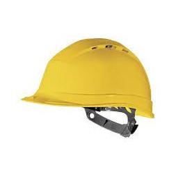 Casque de chantier Quartz 2 jaune