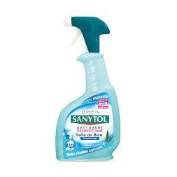 Désinfectant ultra-détartrant SANYTOL : le spray de 500 ml