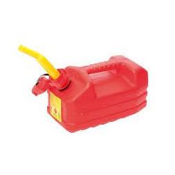 Jerrican hydrocarbure rouge 5L