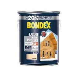 Lasure bois Ultim'protect incolore 5L +20% - BONDEX