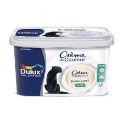 Crème blanc cassé 2.5L - DULUX VALENTINE