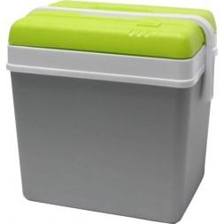 Glacière 24 litres gris perle vert anis 35.5x26.5x40cm