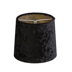 Abat-jour velours noir ø 140mm
