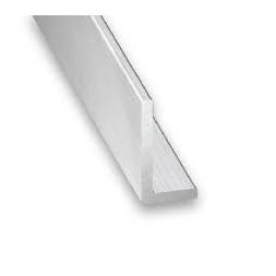 Cornière aluminium brut 25 x 10 x 1.5mm x 1m