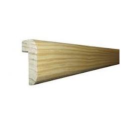 Moulure plan de travail moderne pin 22 x 40mm x 2m