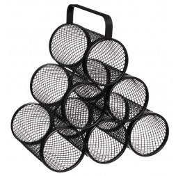 Range-Bouteilles Design Mayaj 30cm Noir