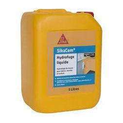 Hydrofuge de masse pour béton/mortier Sikacem® liquide - 5L - SIKA