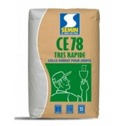Enduit joint CE 78 1/2h en sac de 5kg - SEMIN