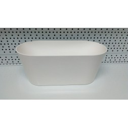 Jardinière Porto blanc