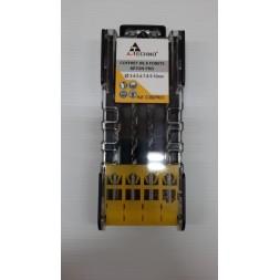 Coffret 8 forets 3 à 10mm - ALPHA COUPE