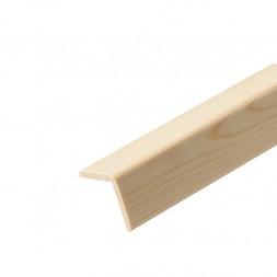 Baguette angle pin traitée 40x40mm 2m00