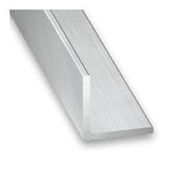 Cornière aluminium brut 25 x 25 x 1.5mm x 1m