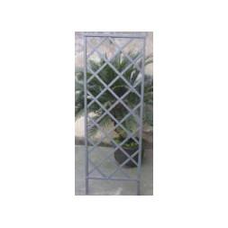 Treillis contemporain fixe gris 1.70 x 0.60m