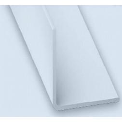 Cornière pvc blanc 20x20mm 2m - CQFD