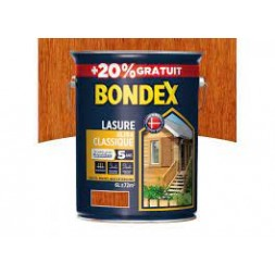 Lasure ultra classique teck 5+1L - BONDEX