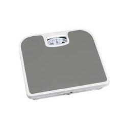 Pèse-personne métal gris