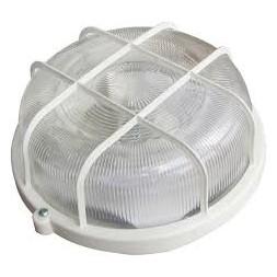 Hublot extérieur rond + grille 100w E27