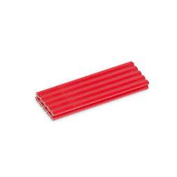 Crayon charpentier rouge 177mm - 10 unitès - KREATOR