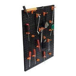 2 panneaux muraux 2 pièces + 24 crochets - PROVENCE OUTILLAGE