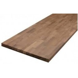 Plan de travail bois Acacia lamellé Huilé L.250 x P.65 cm