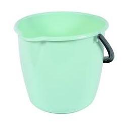 Seau de ménage vert d'eau 10L