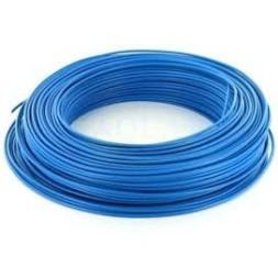 Fil HO7VU 1.5mm bleu 100m