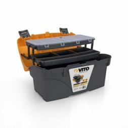 Boite à outils avec organisateur 431mm - VITO