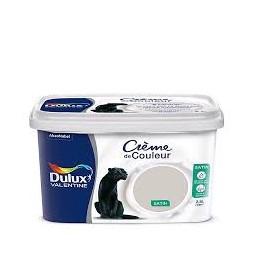 Dulux Valentine crème couleur galet 2.5 l