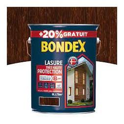 Lasure bois chêne moyen 5L + 20% - BONDEX