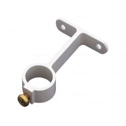 Support central en aluminium pour tubes d'armoire X 2 - AMIG