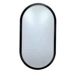 Hublot ovale 10w IP54 noir - TIBELEC