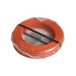 Fil H07VU 1.5mm orange 100m
