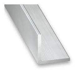 Cornière aluminium 10 x 10 x 1mm x 1m brut