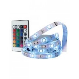 Ruban LED décoratif 3 mètres + télécommande- INOTECH