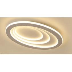 Plafonnier led  ellipse blanc