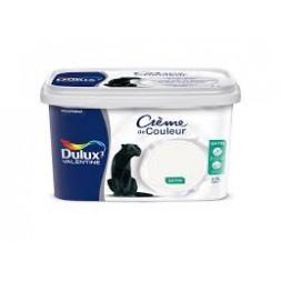 Dulux Valentine crème couleur blanc 2.5 l