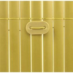 Fixation pour canisses bambou lot de 26 unités - Nortene