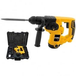 Marteau perforateur / burineur + accessoires 710w SDS Plus - VITO