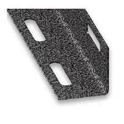 Cornière perforée PAF gris mat 27 x 27mm - CQFD